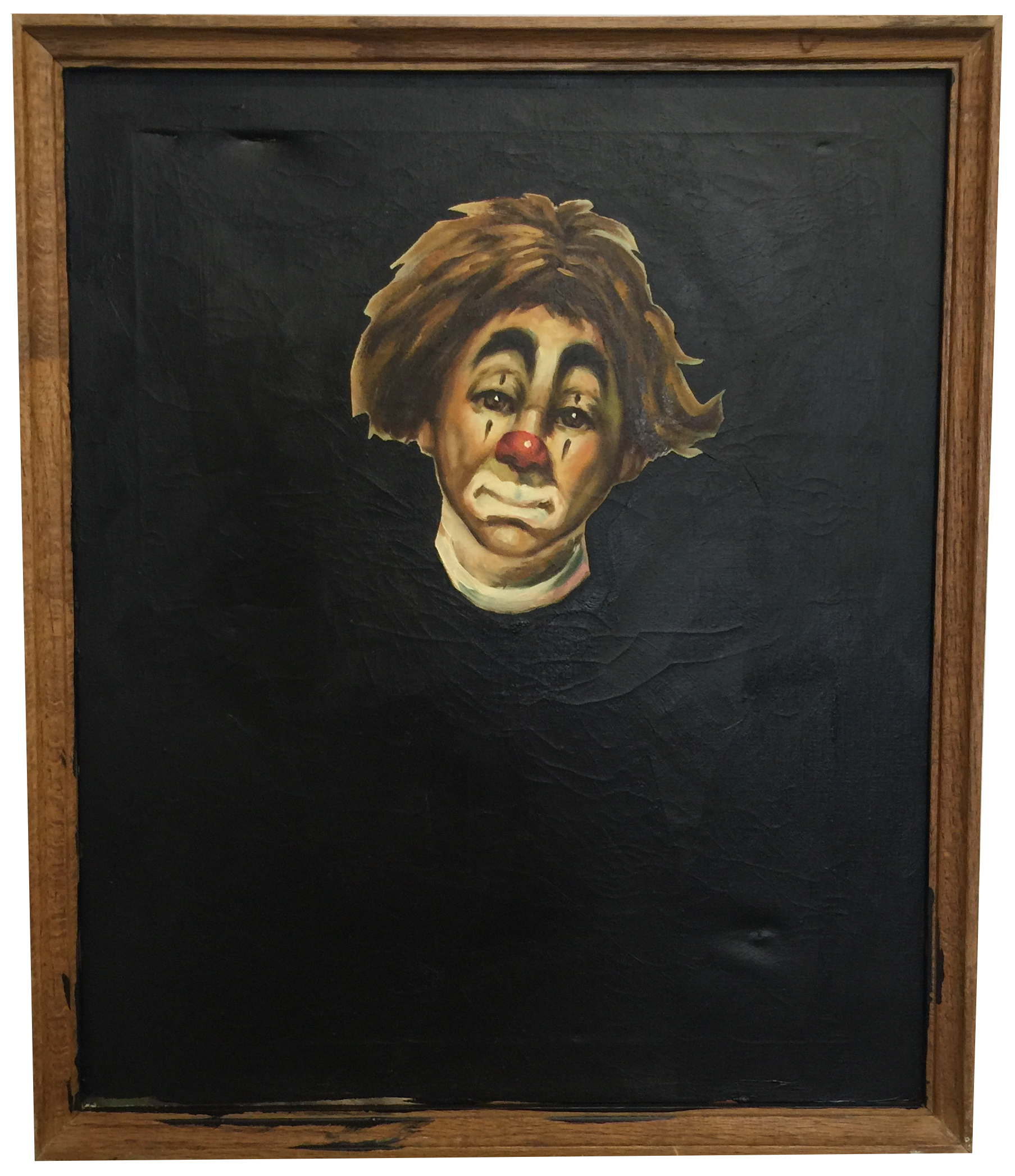 Blacked Out Clown by TMFA