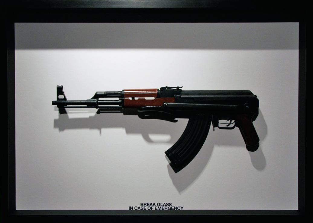 Break Glass In Case of Emergency AK47 Edition by Ruby Anemic