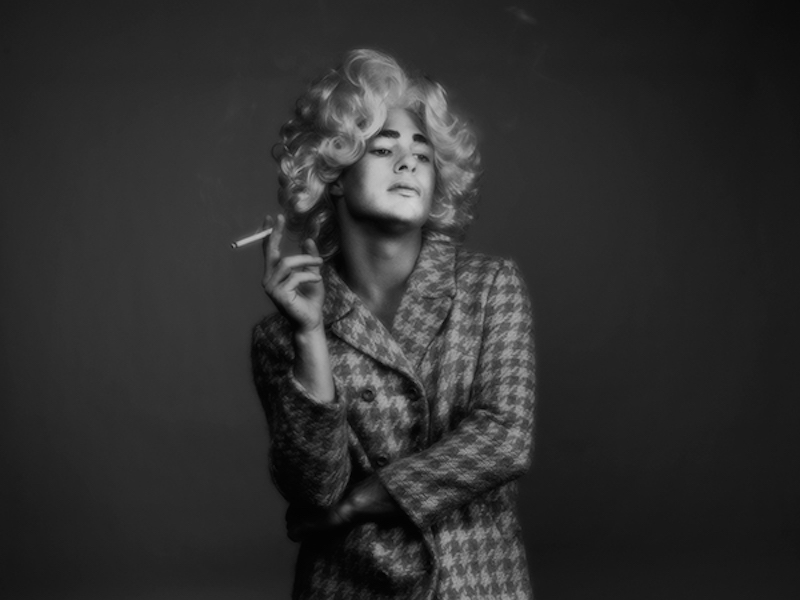 Colton Haynes in Drag Tyler Shields