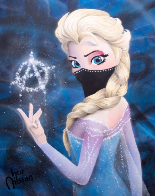 Elsa The Dark Princess by Herr Nilsson