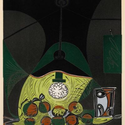 Nature Morte Sous La Lampe by Picasso