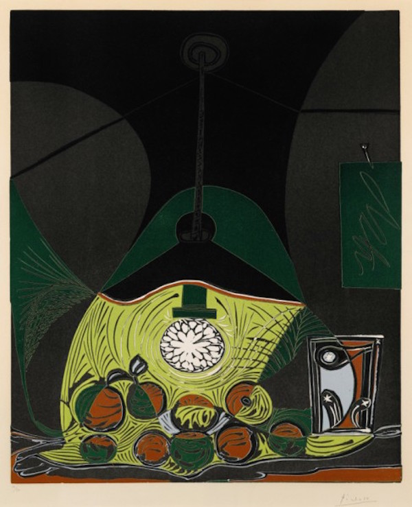Nature Morte sous la Lampe by Picasso - Guy Hepner