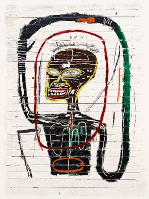 Flexible, Basquiat, estate print,