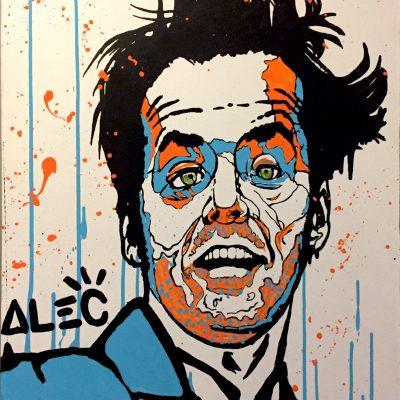 Jack Nicholson, 2010 by Alec Monpoly
