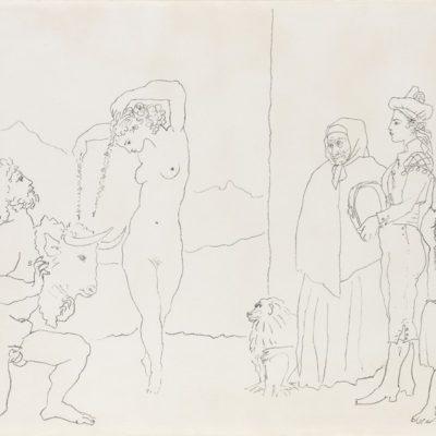 La Danse des Banderilles by Picasso