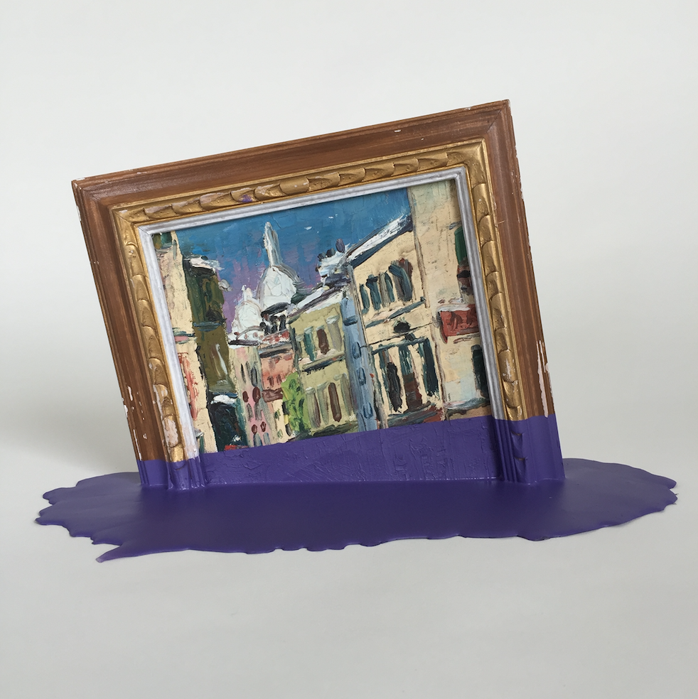 Purple Puddle by TMFA - Guy Hepner