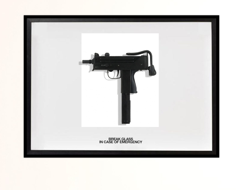 BREAK GLASS MAC 11 by RUBY ANEMIC