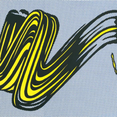 Reflections, Brushstroke, roy lichtenstein, lichtenstein