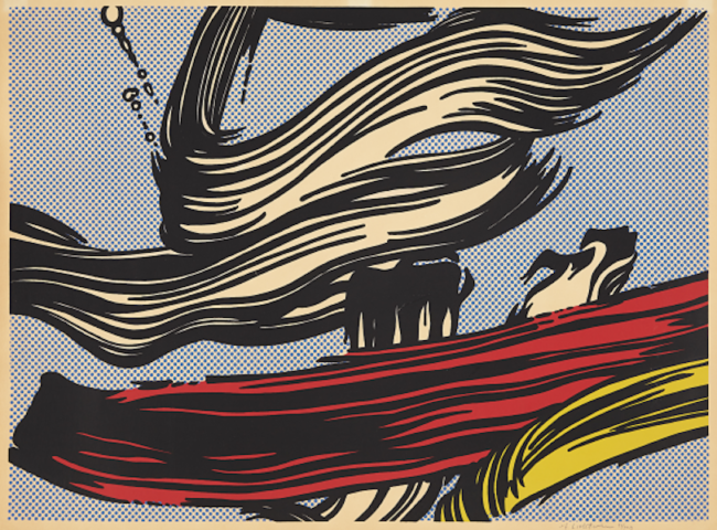 Roy Lichtenstein: Pop Prints and Brushstrokes, Roy Lichtenstein: Pop Prints and Brushstrokes