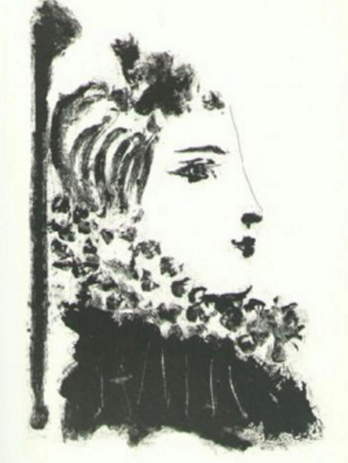 Femme a la Fraise by Picasso