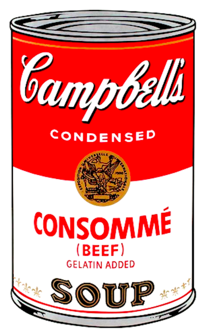 Consomme Soup  by Andy Warhol