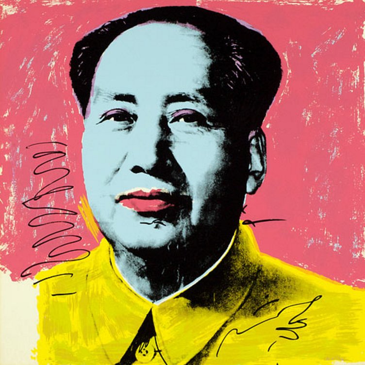 Mao 91 by Andy Warhol