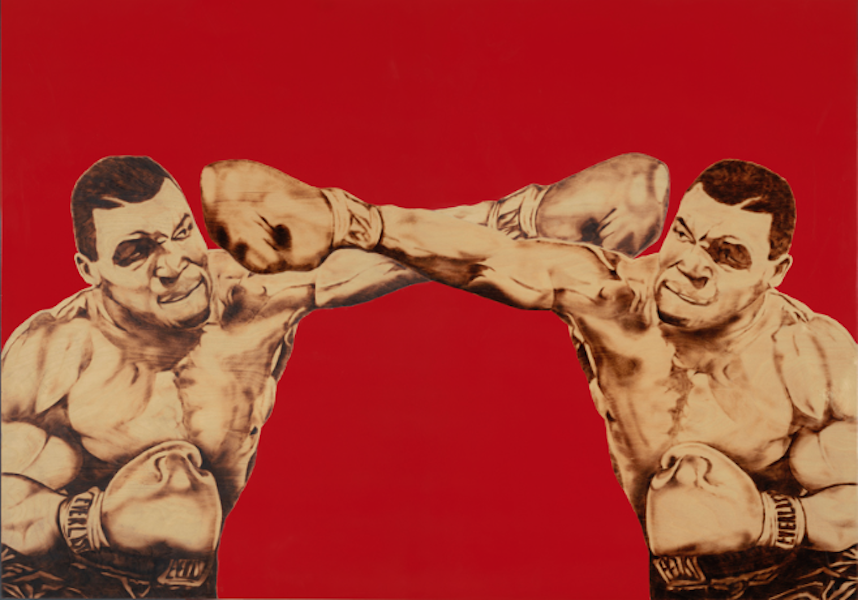 Tyson vs Tyson by Ryan McCann