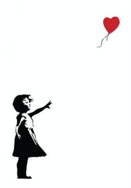 Banksy's Girl With A Balloon, Banksy's Girl With A Balloon