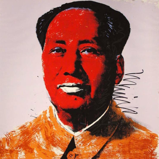Mao By Andy Warhol Guy Hepner