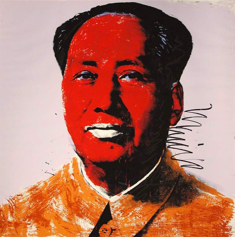 Mao 96 by Andy Warhol