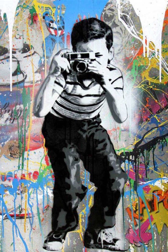 Smile by Mr. Brainwash