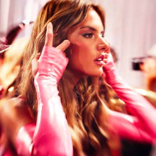 Alessandra Ambrosio Pink by Gavin Bond