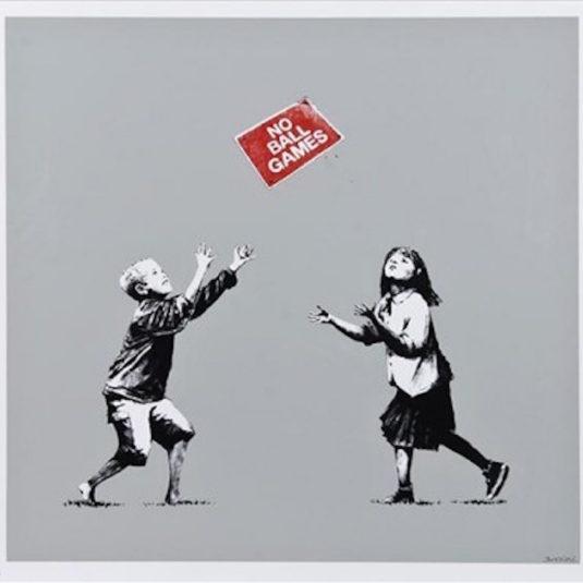 Banksy, urban, street