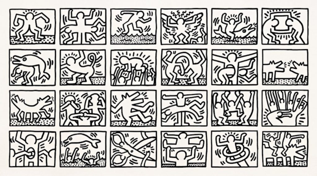 keith haring communicating through cartoons essay Keith haring was born on may 4 and to expand the audience for haring's work through exhibitions essay: diego cortez drawings: keith haring.