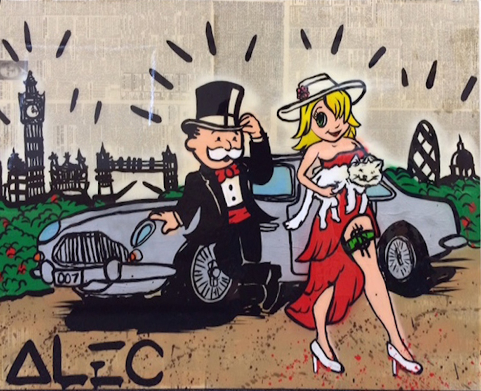 d97baa7026e Goldie and Monopoly in London by Alec Monopoly - Guy Hepner
