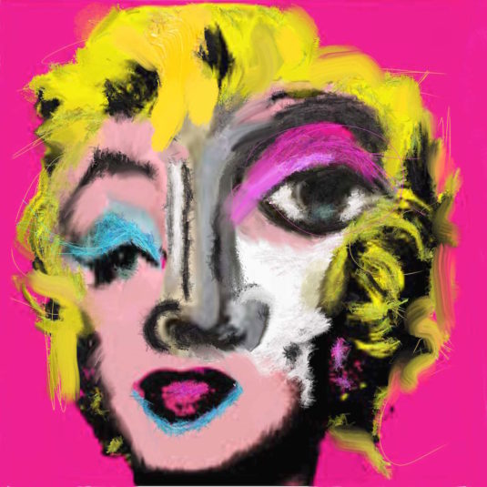 Hello Marilyn by John Paul Fauves