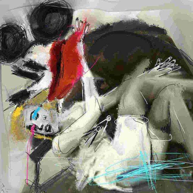 Hello Mickey by John Paul Fauves