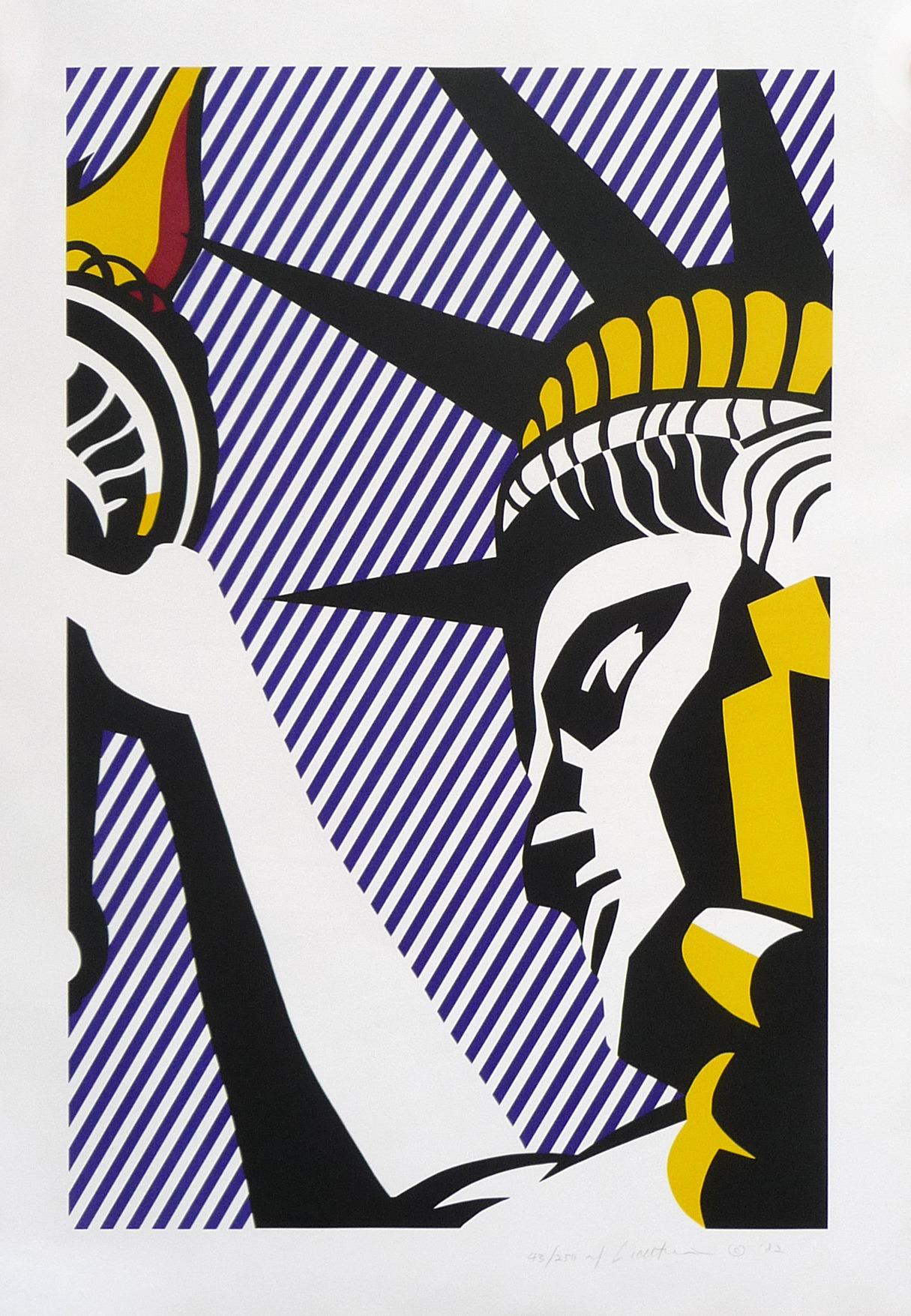I love liberty by roy lichtenstein guy hepner - Roy lichtenstein pop art ...
