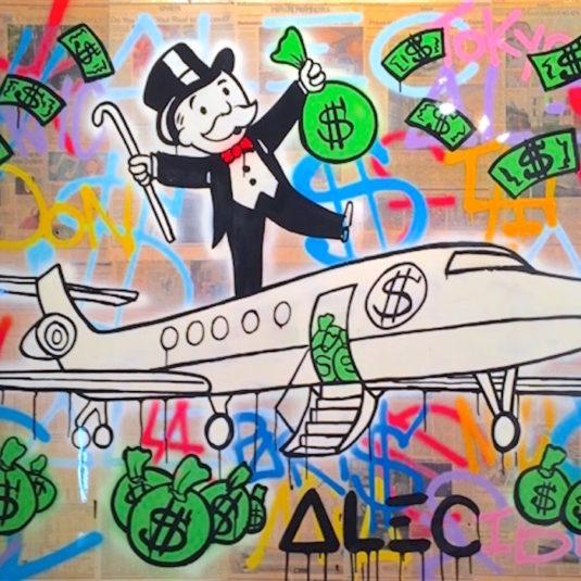 b162d823bd42 Monopoly Man Paintings by Alec Monopoly - Guy Hepner