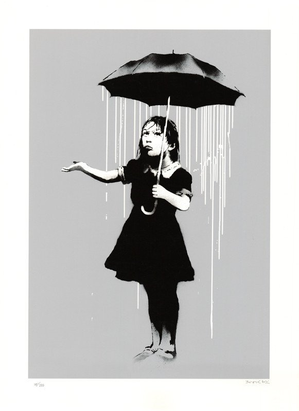 Nola grey by Banksy