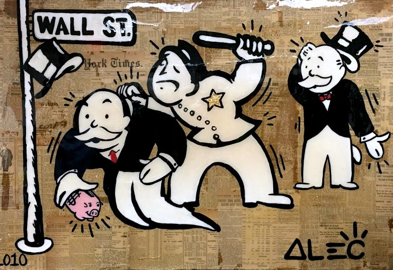 Arrested Monopoly by Alec Monopoly