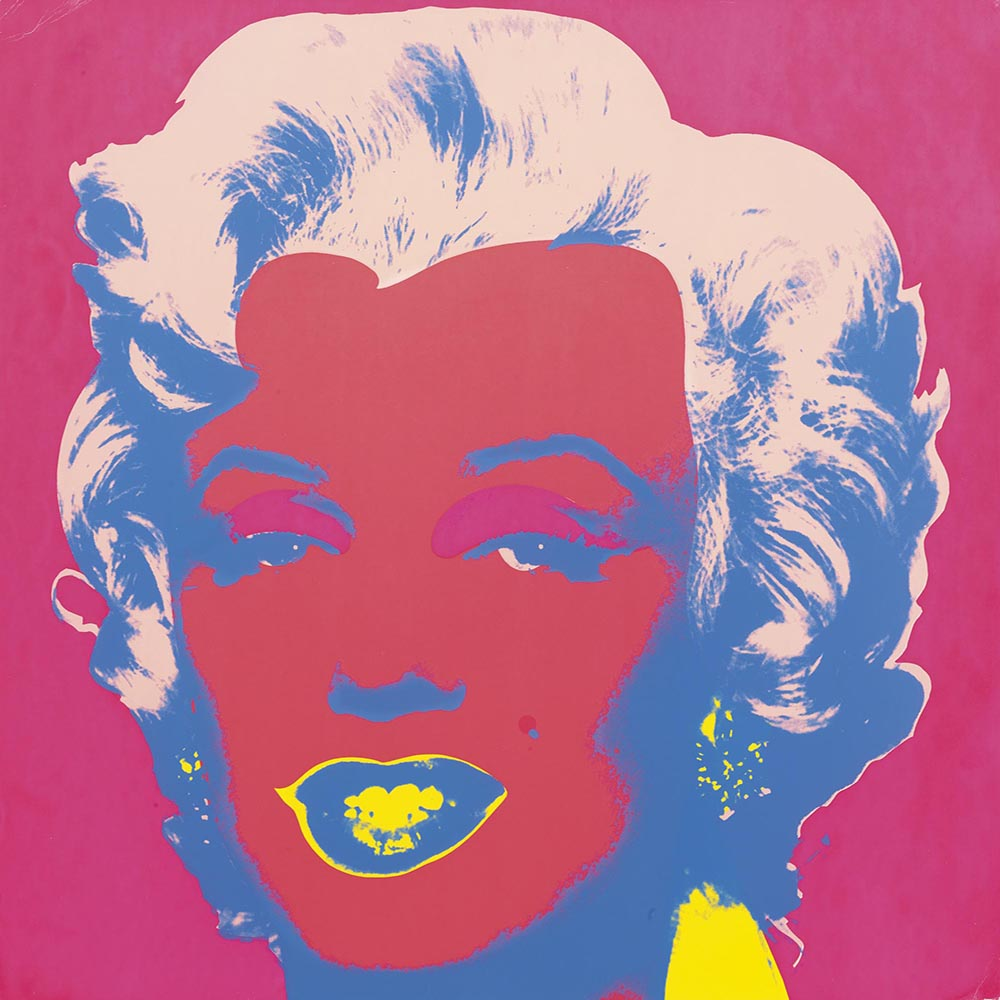 Marilyn Monroe 22 by Andy Warhol