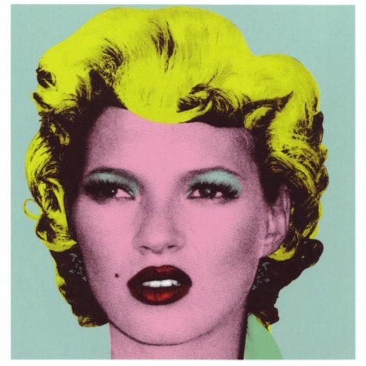 Kate Moss (Original) by Banksy