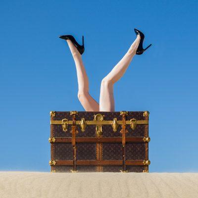 Louis Vuitton Legs by Tyler Shields