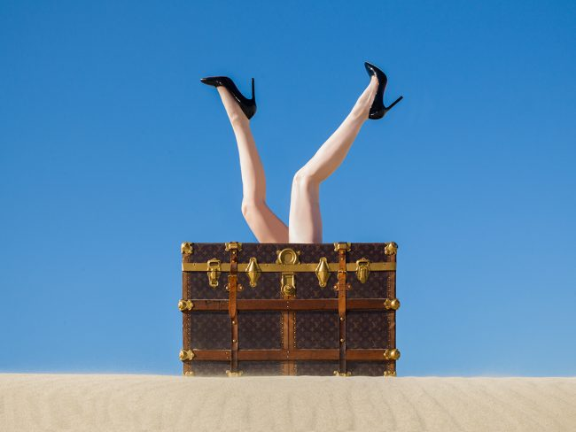 Louis Vuitton Legs by Tyler Shields
