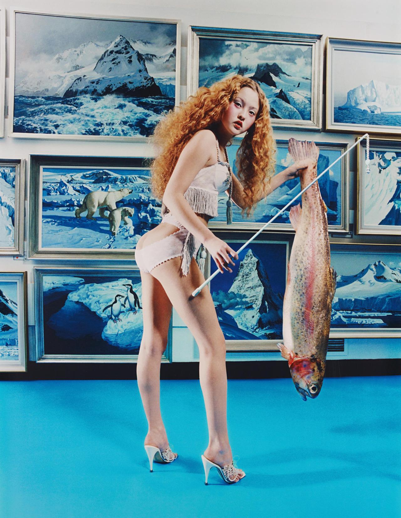 Devon Aoki: Fish Stick by David LaChapelle
