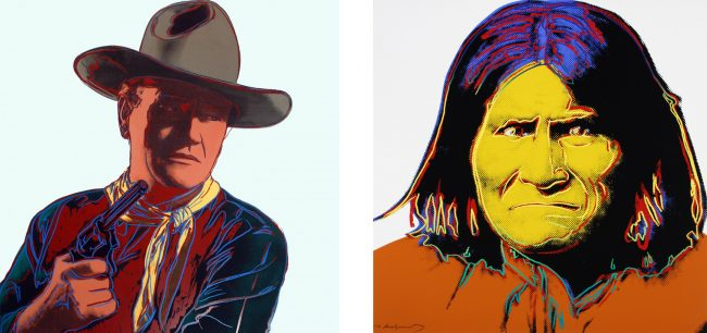 Andy Warhol Cowboys and Indians