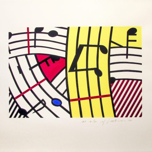 Composition iv, lichtenstein, pop, roy lichtenstein