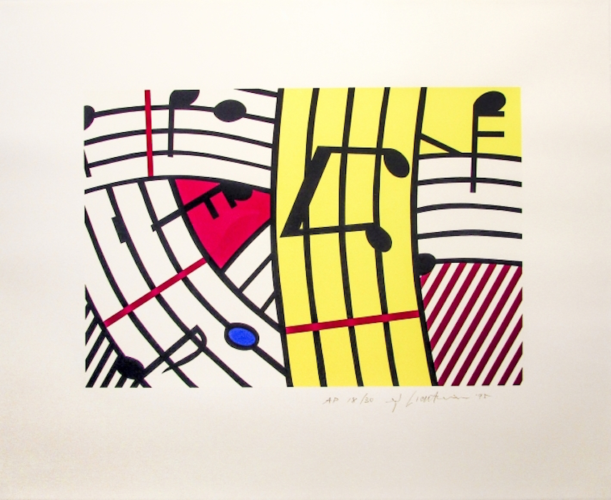 Composition IV by Roy Lichtenstein