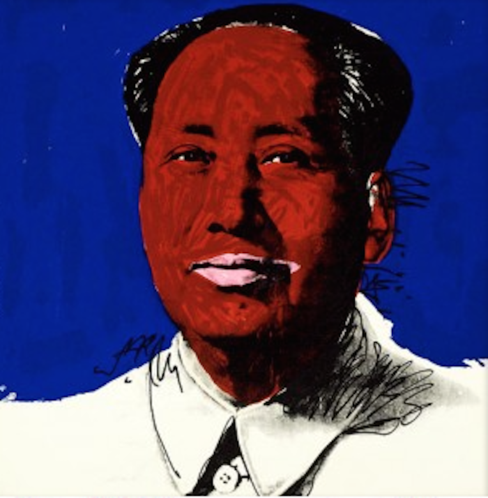 Mao 98 by Andy Warhol