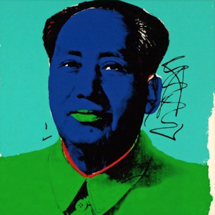 Mao 99 by Andy Warhol