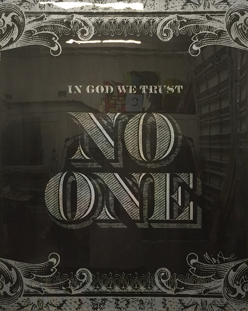 No One Black by Mister E