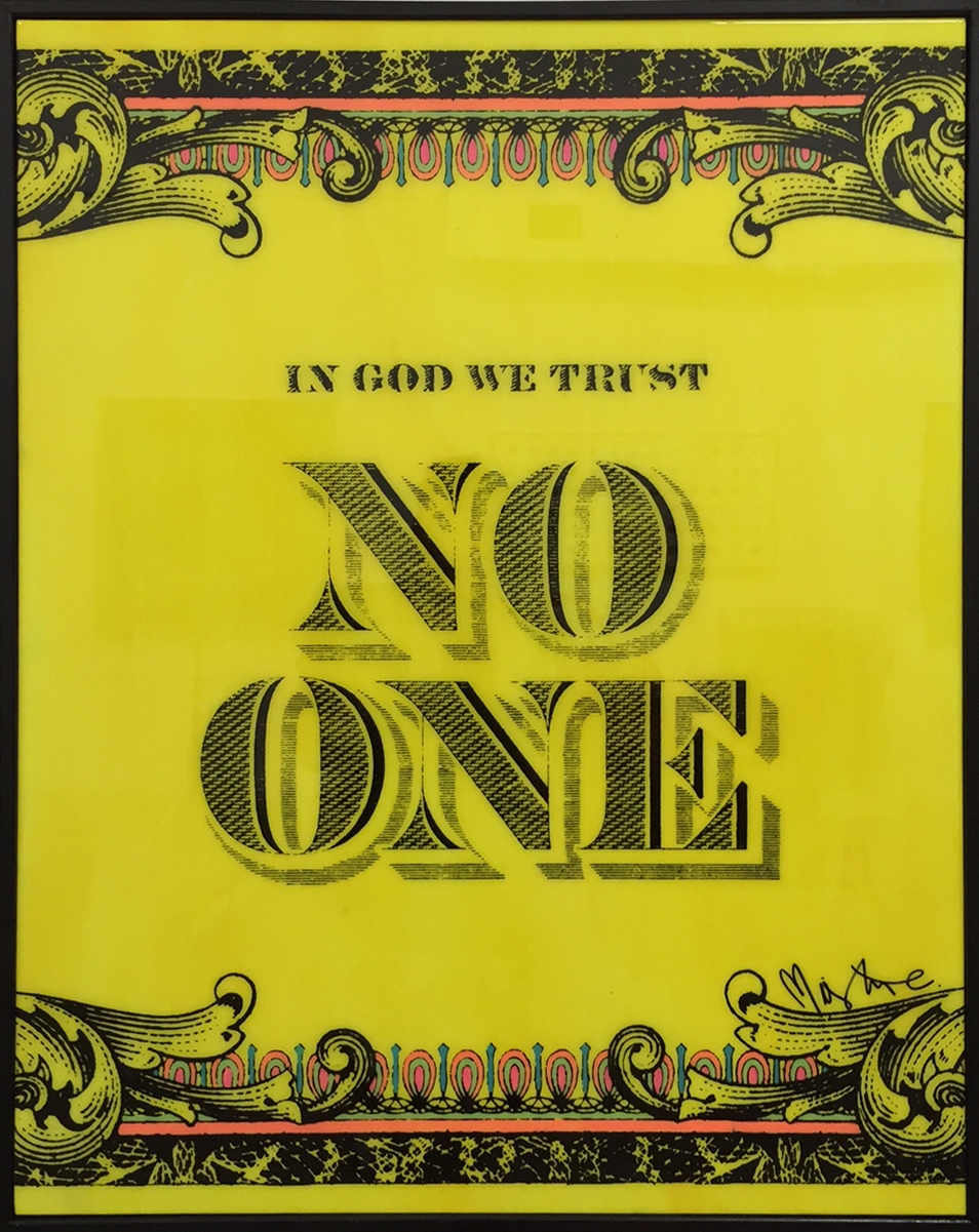 No One Yellow by Mister E