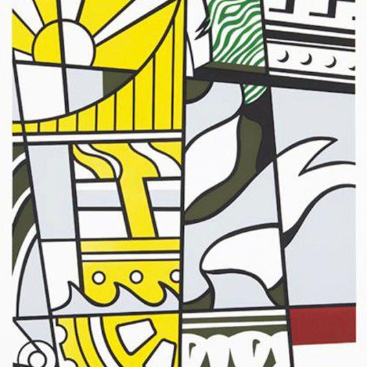 Bicentennial Print, America by Roy Lichtenstein