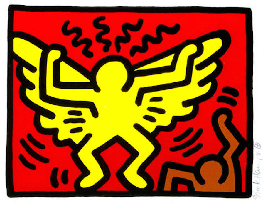 1 Pop Shop IV by Keith Haring