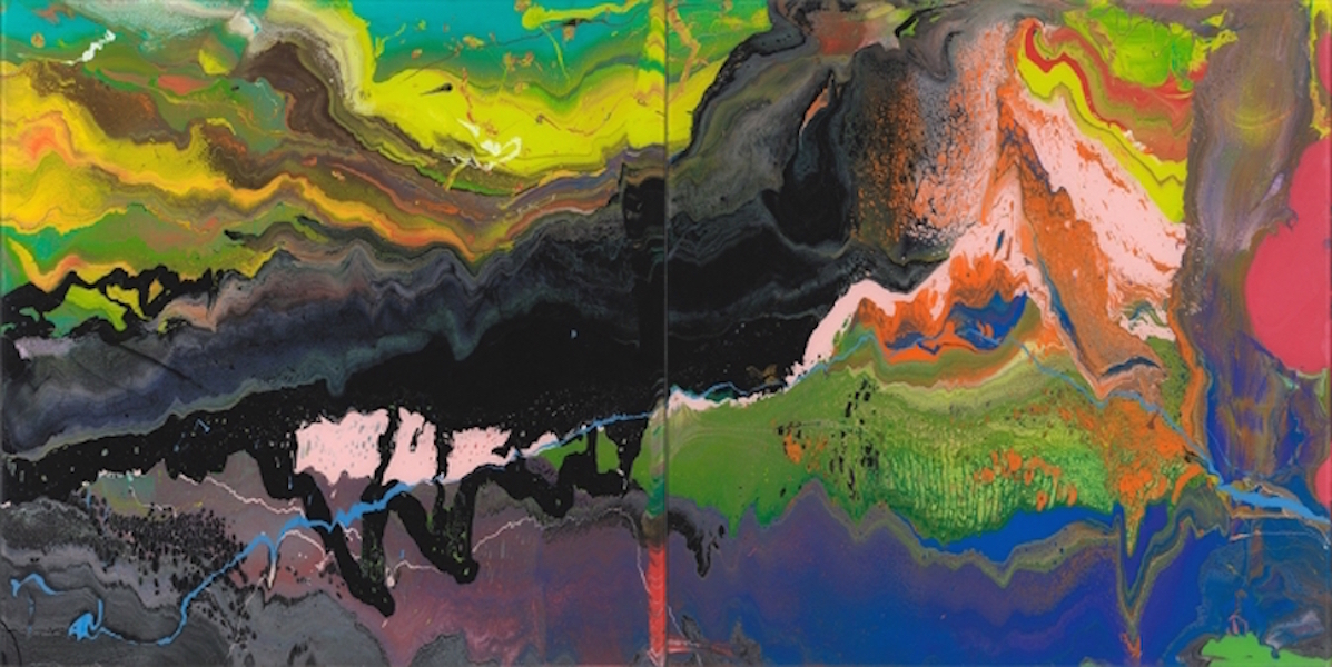 Flow P16 by Gerhard Richter