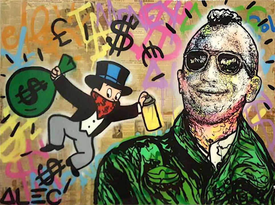 Robert De Niro, Taxi Driver by Alec Monopoly