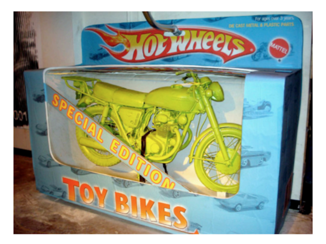 Hot Wheels Toy Bikes (Life Size) by Mr. Brainwash