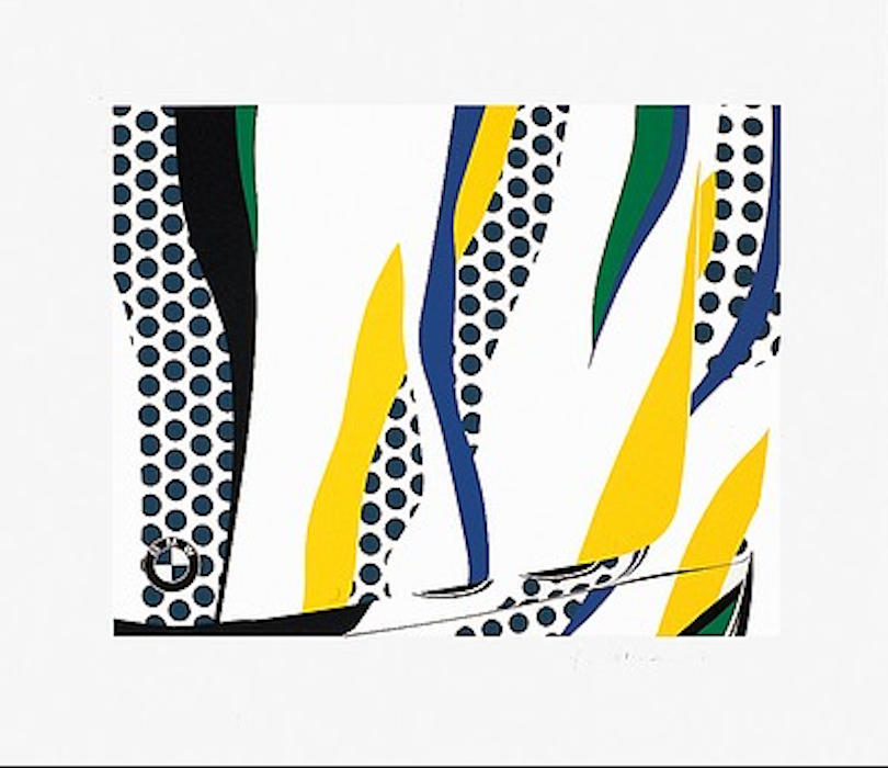 Le Mans by Roy Lichtenstein