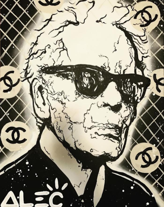 Karl Lagerfeld by Alec Monopoly